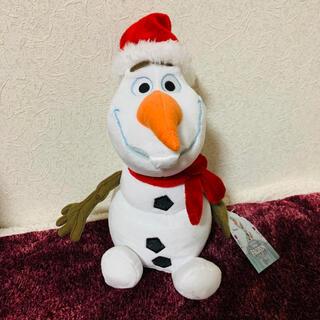 Disney - 【本日限定価格】オラフ クリスマス ぬいぐるみ 海外ディズニー