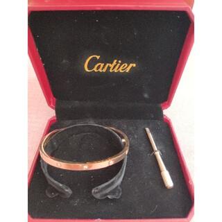 Cartier - ❀素敵!カルティエCartier ブレスレット 17cm 刻印 男女兼用
