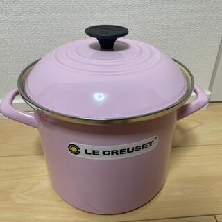 ルクルーゼ(LE CREUSET)のル・クルーゼ 両手鍋 ピンク(鍋/フライパン)