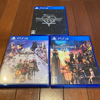 PlayStation4 - (PS4) キングダムハーツ3点セット