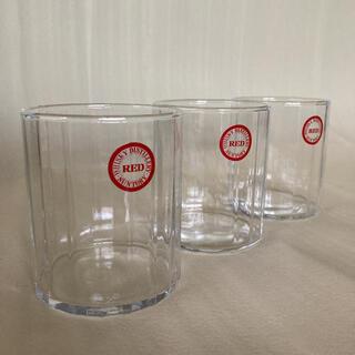 サントリー - 【未使用】サントリーレッド 特製グラス ウイスキーグラス 3個セット 超レア