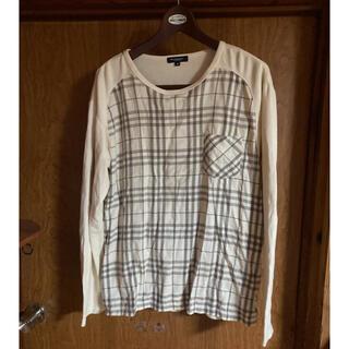 バーバリー(BURBERRY)のバーバリー チェック ロンT カットソー(Tシャツ/カットソー(七分/長袖))