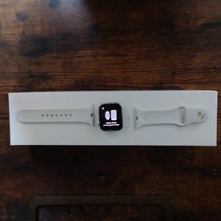 アップルウォッチ(Apple Watch)のapple watch 4 series 40mm silver (GPS)(腕時計(デジタル))