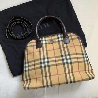 バーバリー(BURBERRY)の【美品・保存袋付き】 Burberry ハンドバッグ ノバチェック 2way(ハンドバッグ)