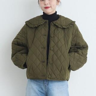 Dot&Stripes CHILDWOMAN - 新品 CHILD WOMAN チャイルドウーマン キルティング丸衿ブルゾン