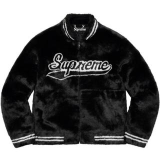 シュプリーム(Supreme)の【Sサイズ】Supreme faux fur varsity jacket  (ブルゾン)