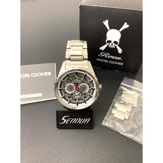 【美品】Roen ロエン×Angel Clover 腕時計  保証書 コマ 箱付