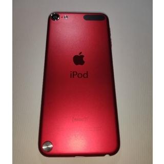 アイポッドタッチ(iPod touch)のipod touch 赤(ポータブルプレーヤー)