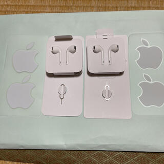 iPhone - iPhone 純正イヤホン 2個