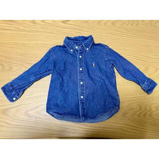 ポロラルフローレン(POLO RALPH LAUREN)のラルフローレン デニム長袖シャツ キッズ 90センチ(Tシャツ/カットソー)