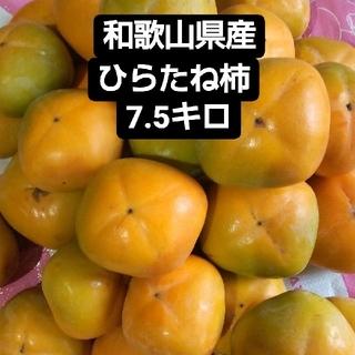 和歌山県産たねなし柿7.5キロ