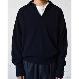 コモリ(COMOLI)の【odam02様専用】COMOLI 21AW カシミヤ スキッパーニット(ニット/セーター)