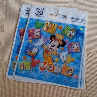 Disney - ディズニーリゾート 30周年 お土産袋 ショッパー 14枚