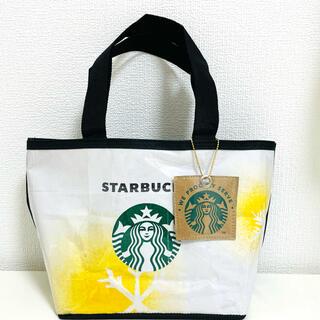 スターバックス限定紙袋リメイク ミニトートバッグ チャーム付き 再販なし
