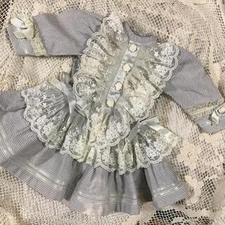 アンティークビスクドール    ドレス