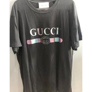 Gucci - GUCCI レインボー ロゴTシャツ