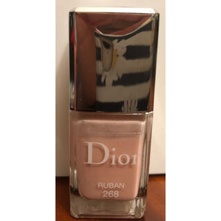 クリスチャンディオール(Christian Dior)のディオール ヴェルニ 268 リュバン(マニキュア)