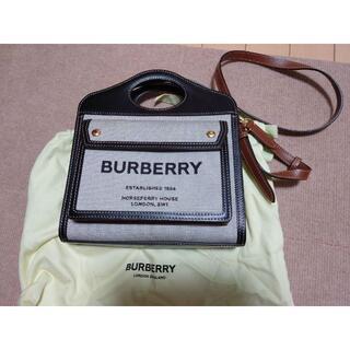 バーバリー(BURBERRY)のバーバリーポケットバッグ(ショルダーバッグ)