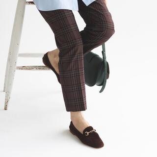 イエナ(IENA)のIENA ファビオルスコーニ スウェードビットローファー(ローファー/革靴)