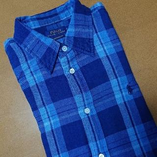 POLO RALPH LAUREN - ポロ ラルフローレン コットンシャツ レディース大きいサイズ XL
