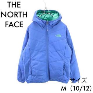 THE NORTH FACE - ザノースフェイス 中綿 リバーシブルジップパーカー 10/12 ブルー×グリーン