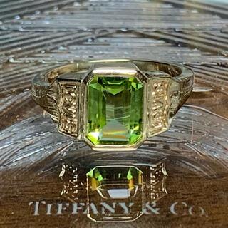 Tiffany & Co. - VINTAGE TIFFANYティファニー ゴールド ペリドット アワードリング