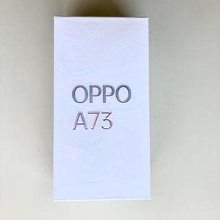 OPPO - OPPO Oppo A73 ネービーブルー CPH2099 BL