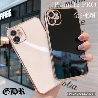 iPhone12 Pro シリコンケース オシャレ シンプル 韓国 かわいい(iPhoneケース)