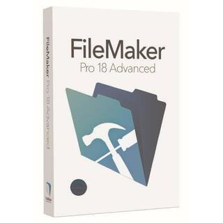 Filemaker ファイルメーカー プロ18 ダウンロード版(その他)