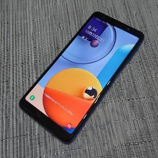ギャラクシー(Galaxy)のSIMフリー Galaxy a7 ブルー 64GB(スマートフォン本体)