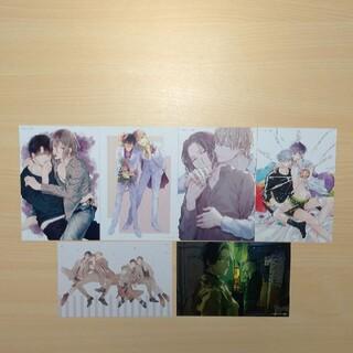 Qpa コミックスフェアとらのあな 2021イラストカード 6種類セット(その他)
