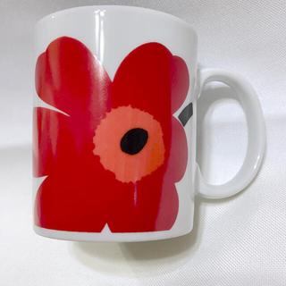 マリメッコ(marimekko)の[廃盤品] マリメッコ 旧マグカップ ウニッコ赤(マグカップ)