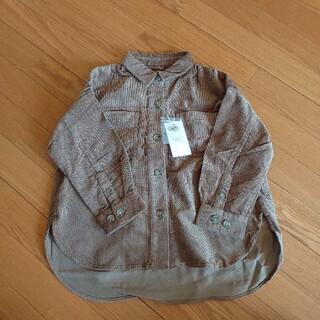 ローリーズファーム(LOWRYS FARM)の新品✡LOWRYS FARM*ドビーコールビッグシャツ(ジャケット/上着)