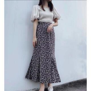 COCO DEAL - ココディール♡シャドーフラワーマーメイドスカート