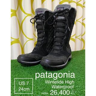 パタゴニア(patagonia)の★patagonia★パタゴニア★ウィンター本革防水ブーツ★26,400円(ブーツ)