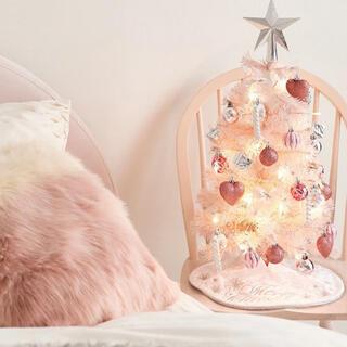 フランフラン(Francfranc)のフランフラン クリスマスツリー  スターターセット ピンク 新品未使用(その他)