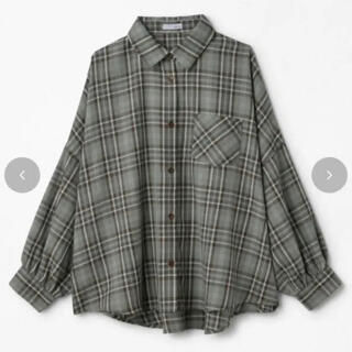 しまむら - しまむら Helm チェック シャツ BIGシャツ 長袖 Lサイズ