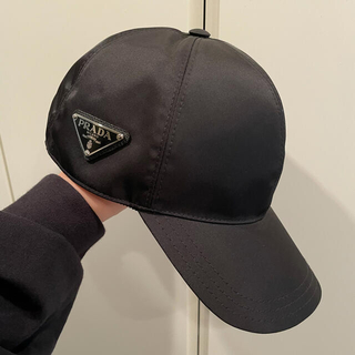 PRADA - プラダ PRADA 帽子 キャップ NERO 黒 21年秋冬新作 新品本物