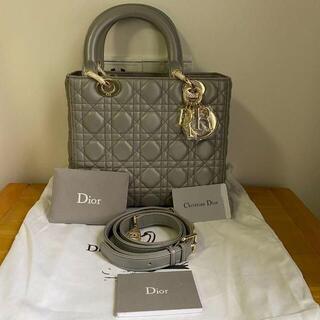 Christian Dior - レディディオール  ミディアム ハンドバッグ