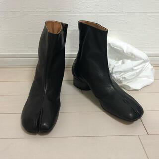 Maison Martin Margiela - 【新品未使用】24.5 メゾンマルジェラ ショートブーツ TABI ブラック