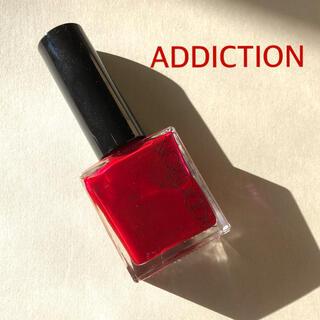 ADDICTION - ADDICTION ザ ネイルポリッシュ ネイル 赤 アディクション