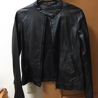 ユニクロ(UNIQLO)のUNIQLO レザージャケット(ライダースジャケット)