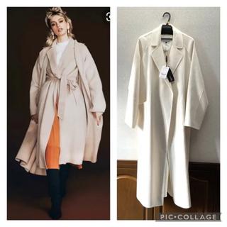 DOUBLE STANDARD CLOTHING - 新品 ダブルスタンダードクロージング sov ウールリバーコート
