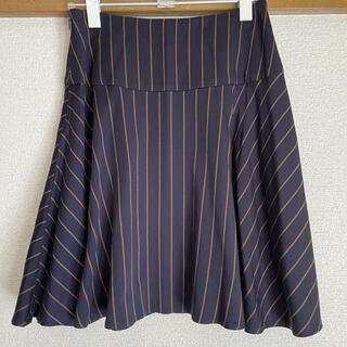 フレームワーク(FRAMeWORK)の【FRAMeWORK】ストライプスカート(ひざ丈スカート)