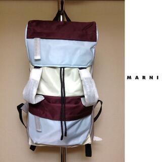 マルニ(Marni)の新品 定価8.5万円 MARNI 19ss バックパック1339(トートバッグ)