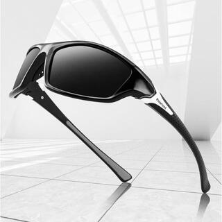 スポーツサングラスNO.1  偏光レンズ UVカット 軽量 ゴルフ 釣 ドライブ