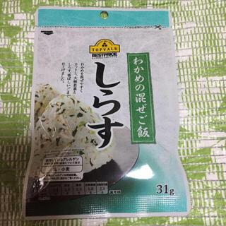 イオン(AEON)のトップバリュ●わかめの混ぜご飯 しらす★31g(乾物)