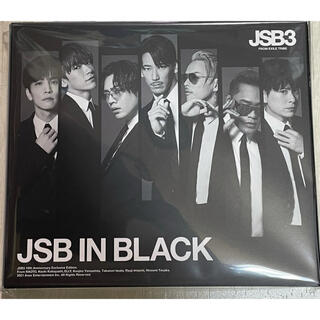 三代目 J Soul Brothers - JSB IN BLACK  CD +DVD 未使用