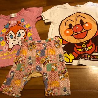 バンダイ(BANDAI)のアンパンマン洋服3点セット(Tシャツ)