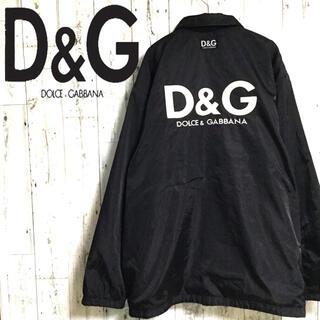 DOLCE&GABBANA - 激レア  D&G ドルチェアンドガッバーナ ナイロンジャケット リバーシブル